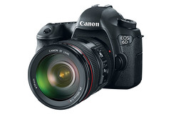 Canon 6D with lens by Kent Yu