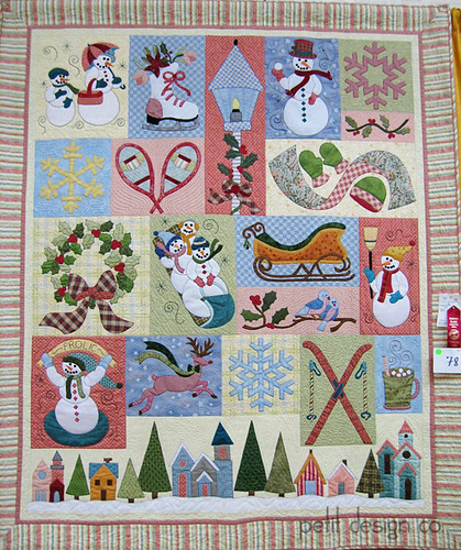 TN State Fair quilts - Snowmen