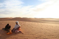 Dunas em Chinguetti, Mauritânia