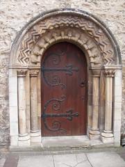 Ornate Door in Oxford