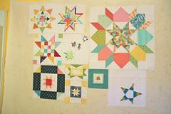 Faith's Traveling Quilts quilt blocks so far!