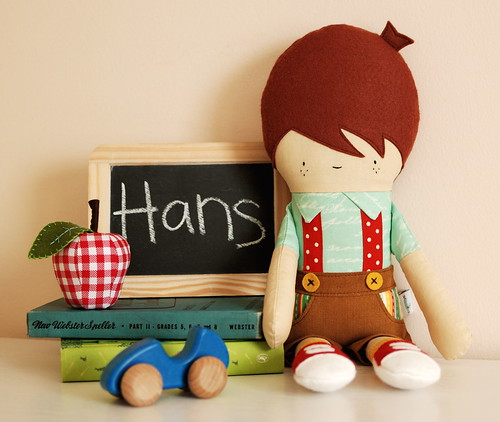 Hans doll by Retro Mama