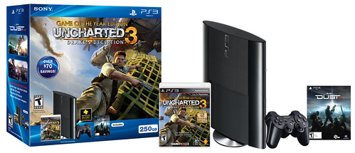 PS3 super slim uncharted 3 bundle