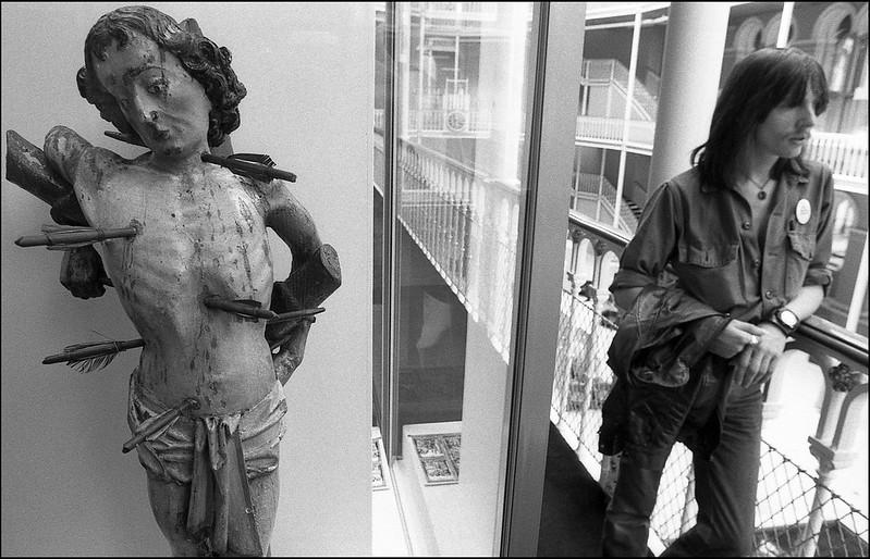 St Sebastian and Ian. Edinburgh. 1980s.