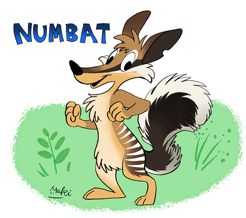 Numbat by kuro-risu