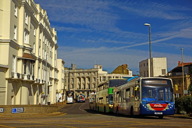 Hastings United Kingdom  city photo : Getting about in Hastings, East Sussex, England, United Kingdom ...