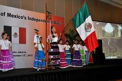 CELEBRACIÓN DEL 202 ANIVERSARIO DE LA INDEPENDENCIA DE MÉXICO EN INDONESIA