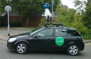 Google Street View Car 20th September 2012