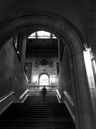 blackandwhite at Universitat de Barcelona