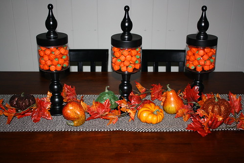 Candlestick Apothecary Jars