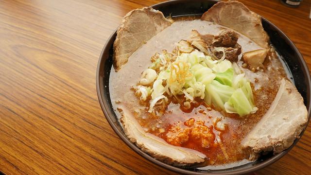 Ramen (Lavender Pork ) / Hasumi,Hokkaido