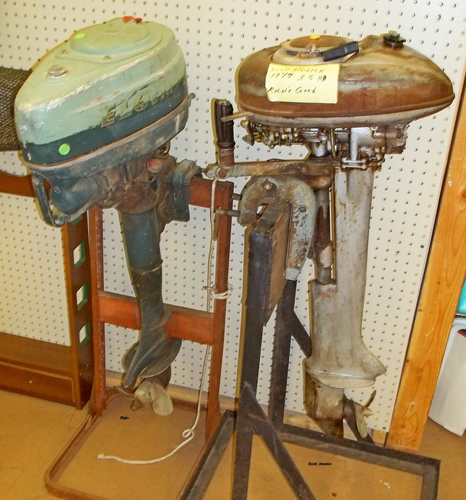 Antique outboards