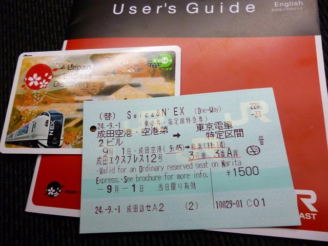 Suica & N'EX package