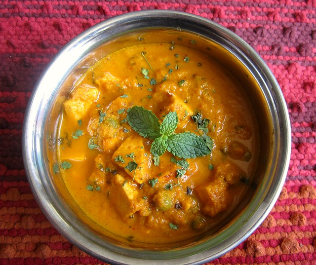 Instant Paneer Curry