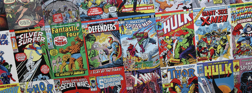 Timeline Cover - Comic Books