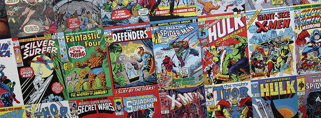 Comic Book Montage