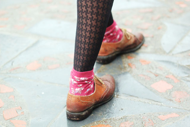 muddy brogue cath kidston socks