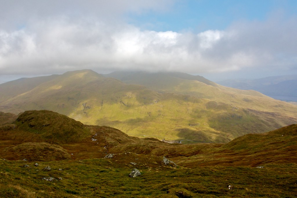 Cloud over Ben Lawers