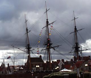 Ship ahoy! HMS Trincomalee, Hartlepool