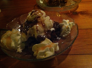Chocolate Cobbler, Cloaked Review, Mar Vista Dockside Restaurant & Pub