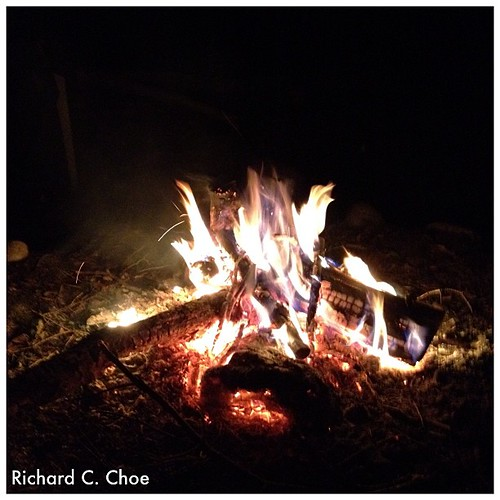 Camp Fire 10 by rchoephoto