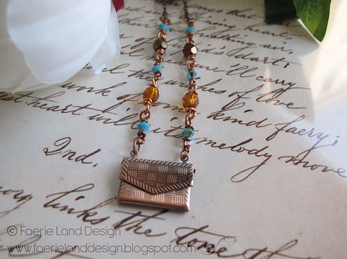 Collana Love Letter rame