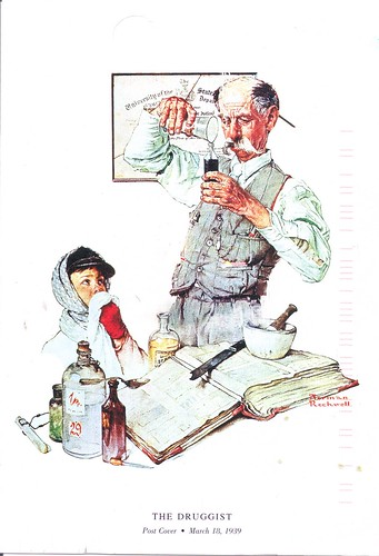 Norman Rockwell The Druggist