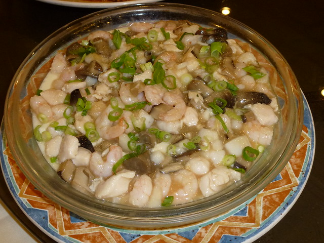 Tofu with seafood 3