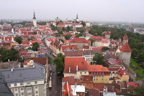view from atop St. Olaf's Church