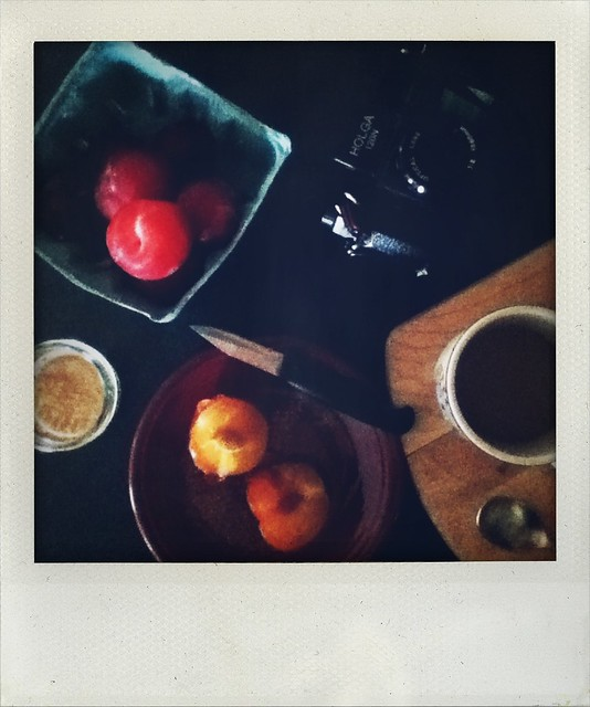 Thursday Breakfast-cinnamon and sugar plums