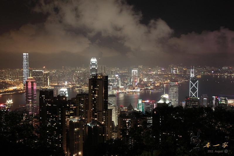 香港太平山頂夜景|杜莎夫人蠟像館HDMV~世界三大夜景兼看香港藝人