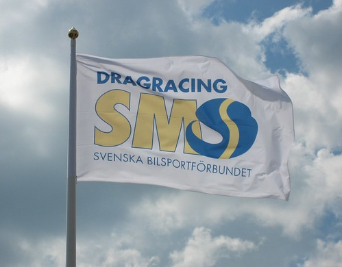 Swedish Automobile Sport Federation Dragracing Chamionship flag
