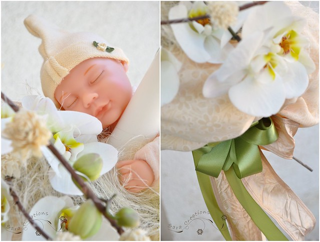 lumanare botez Anne Geddes - christening candle
