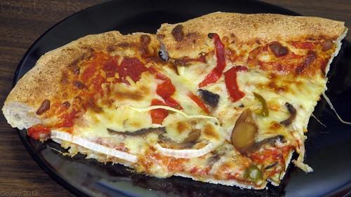 Veggie pizza by Coyoty
