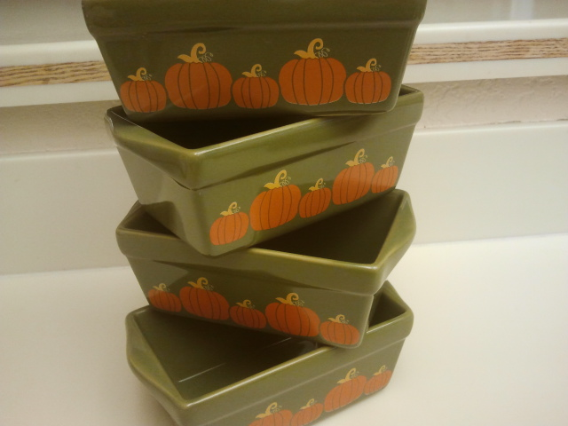 Pumpkin loafs