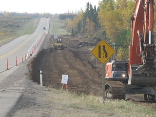 Construction on Highway 63 - 3