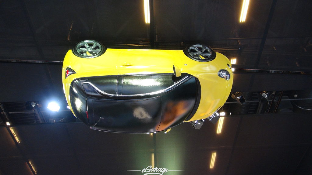 8034739095 7bf94e6ff9 b eGarage Paris Motor Show Upside Down