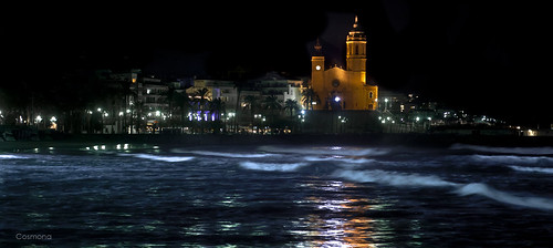 Sitges night by cosmona