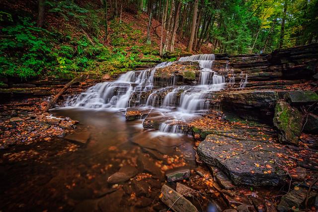 Beecher Creek Falls...in the Fall