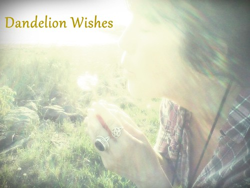 sending off my wish