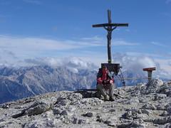 Auf dem Gipfel des Lagazuoi