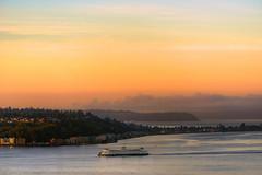 Ferry, West Seattle/Alki Beach & Puget Sound