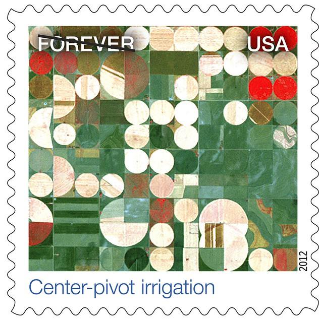 Landsat Images Land On Us Postal Stamps Flickr Photo