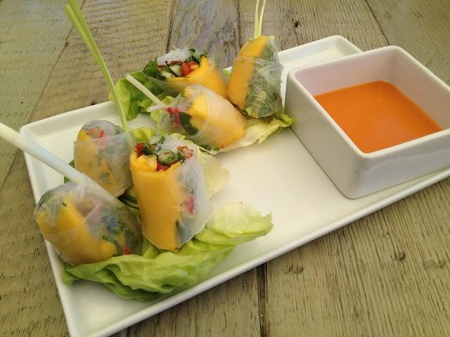 Chilled veggie summer roll - Jiao