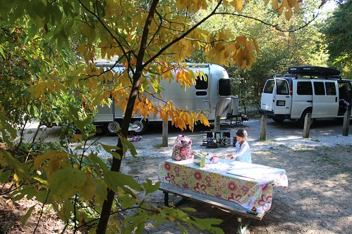 Day 59: Indiana Dunes National Lakeshore Campground.