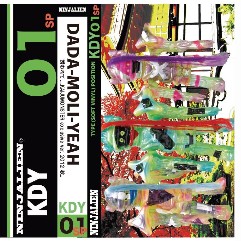 New York Comic-Con DADA-MOLI-YEAH one-offs