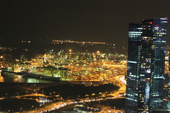 View from Sky Park (Top on Marina Bay Sands)