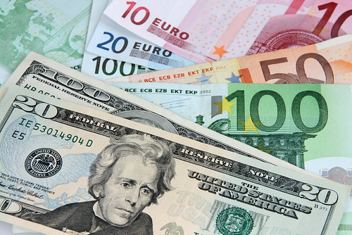 American Dollars and Euro