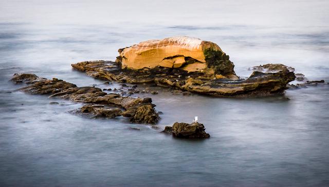 Bird Rock and Windansea at Sunrise 93012 © Michael Klayman-002