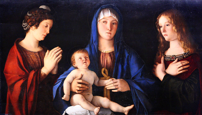 The Virgin and Child with St. Catherine and Mary Magdalene